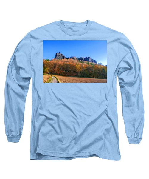 Fall Colors Around The Lilienstein Long Sleeve T-Shirt