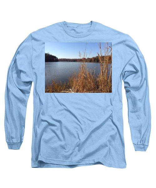 Long Sleeve T-Shirt featuring the photograph Fall On The Creek by Charles Kraus