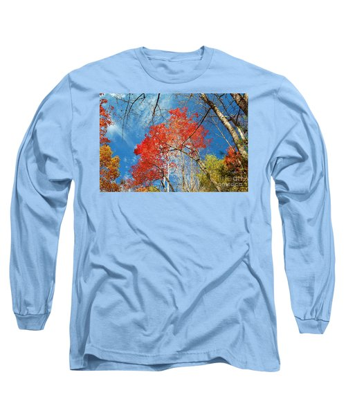 Fall Sky Long Sleeve T-Shirt by Patrick Shupert