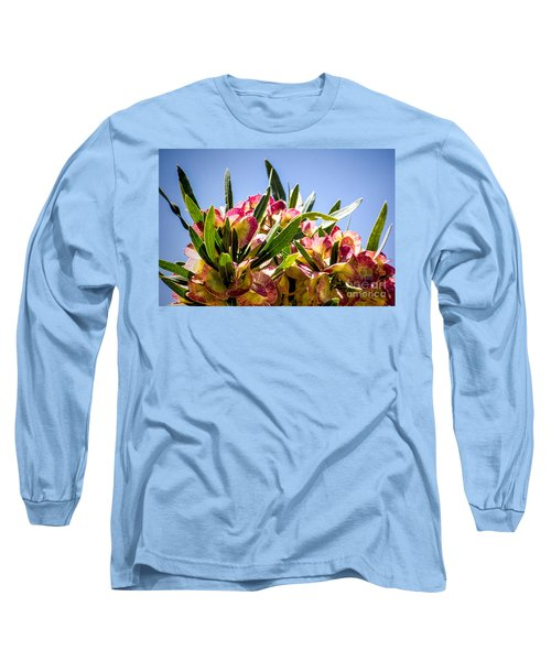 Fanned Flowers Long Sleeve T-Shirt