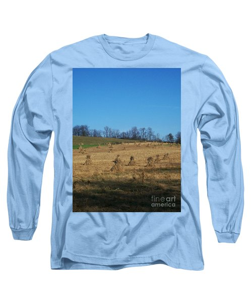 Long Sleeve T-Shirt featuring the photograph Farm Days by Sara  Raber