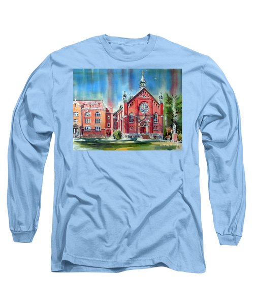 Feed The Birds IIi Long Sleeve T-Shirt by Kip DeVore