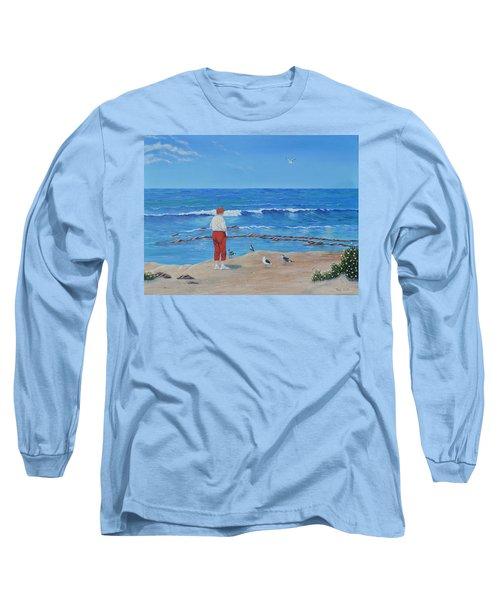Feeding The Birds Long Sleeve T-Shirt