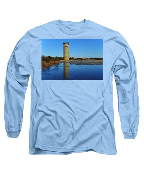 Fire Control Tower 3 Icy Reflection Long Sleeve T-Shirt