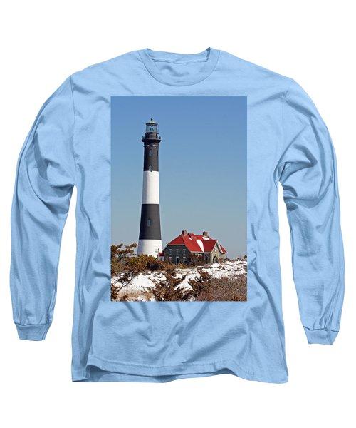 Fire Island Snow Long Sleeve T-Shirt