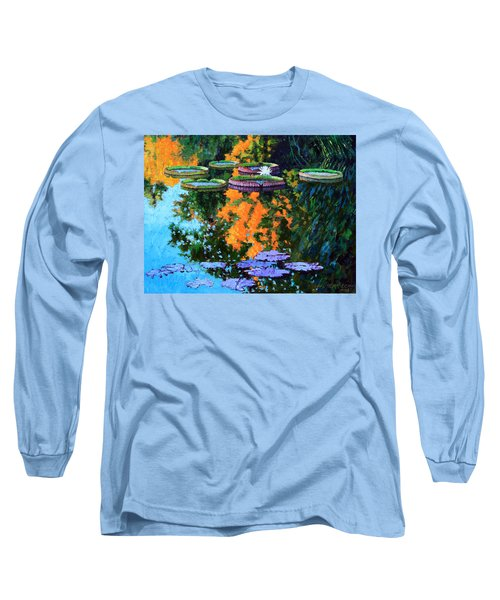 First Signs Of Fall Long Sleeve T-Shirt by John Lautermilch
