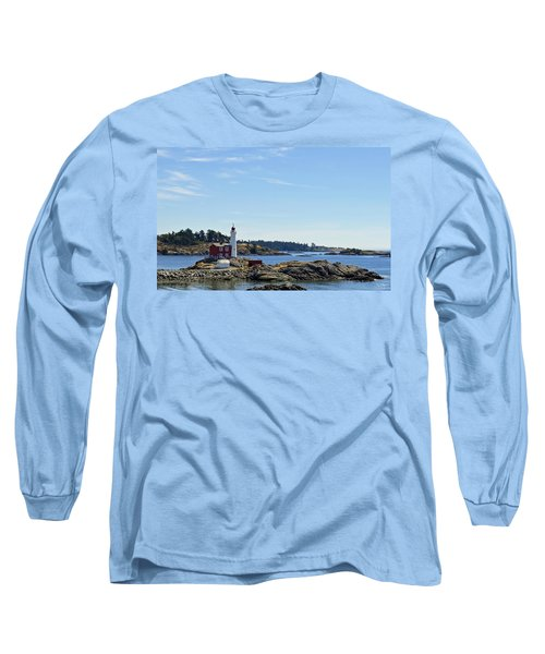 Fisgard Lighthouse Long Sleeve T-Shirt