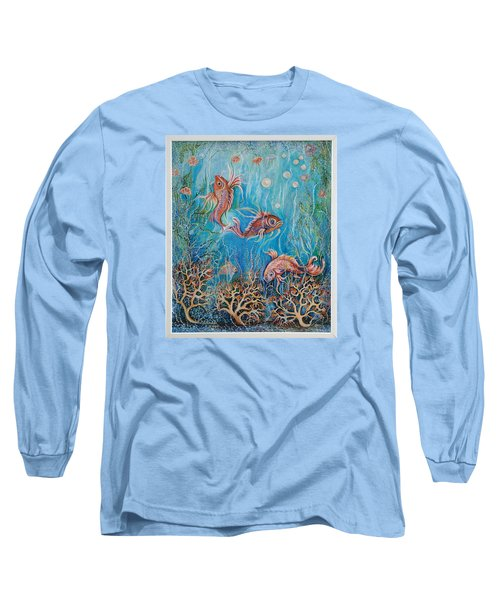 Fish In A Pond Long Sleeve T-Shirt
