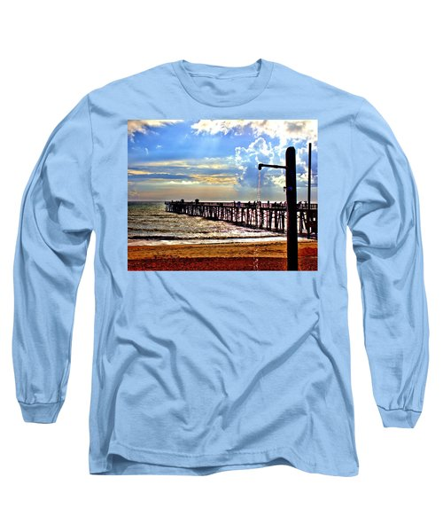 Flagler Pier Heaven Long Sleeve T-Shirt