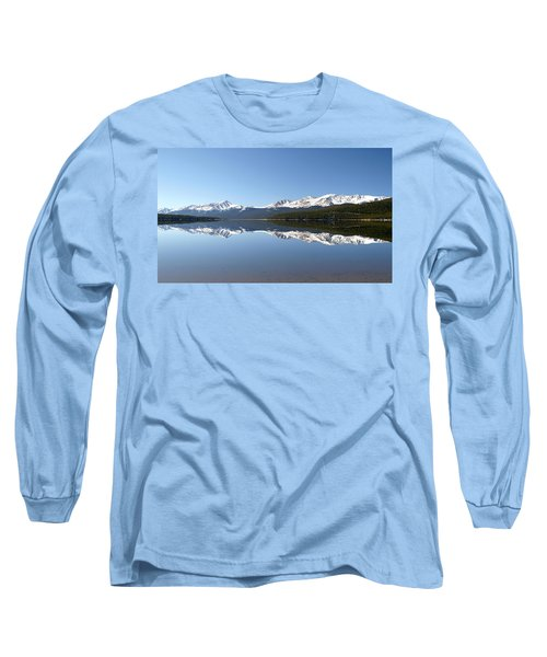 Flat Water Long Sleeve T-Shirt by Jeremy Rhoades