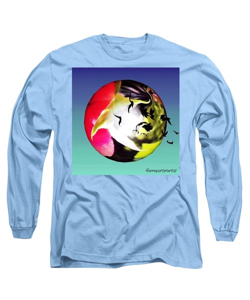 Flight Of The Ravens #art Long Sleeve T-Shirt