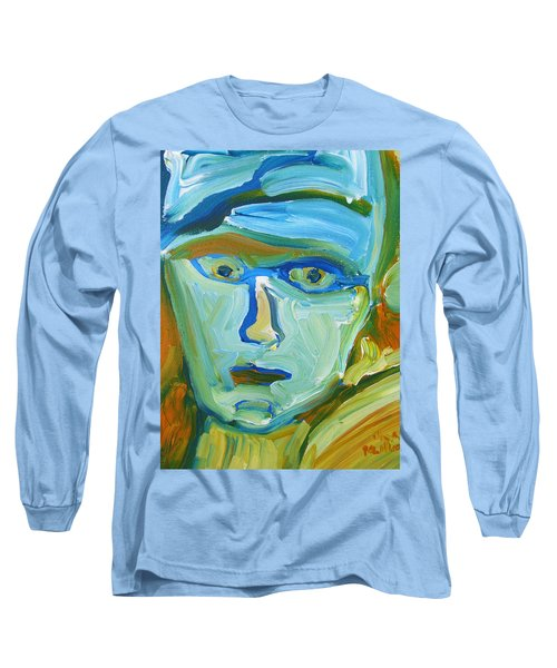 Floating Head Long Sleeve T-Shirt