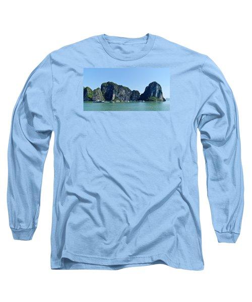 Floating Village Ha Long Bay Long Sleeve T-Shirt