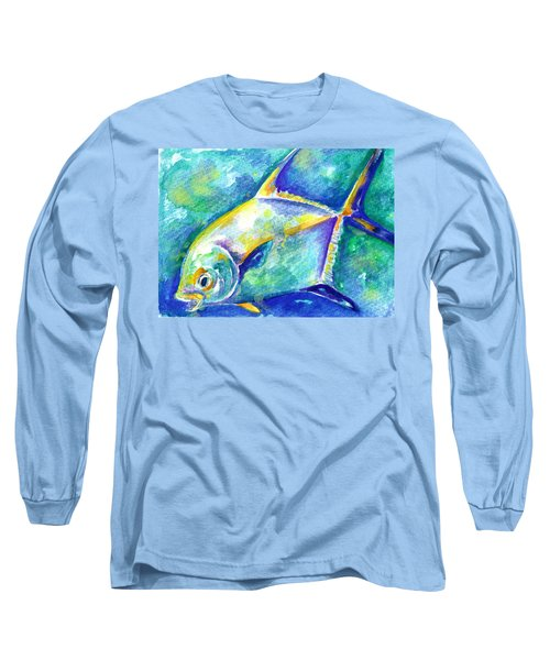 Florida Keys Permit Long Sleeve T-Shirt
