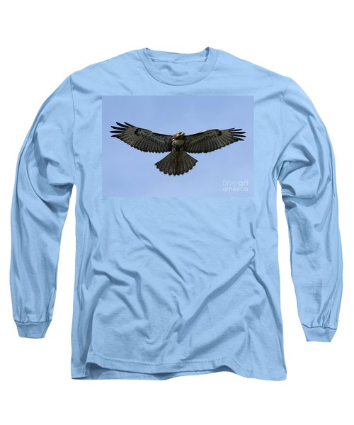 Flying Free - Red-tailed Hawk Long Sleeve T-Shirt