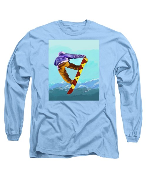 Flying High Long Sleeve T-Shirt by Jeanne Fischer