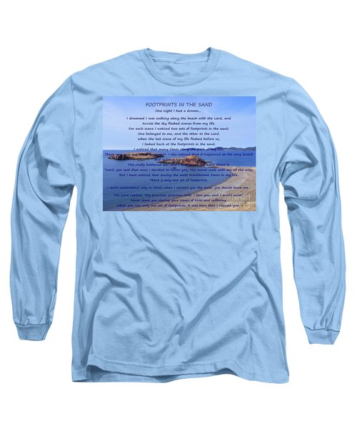 Footprints In The Sand 2 Long Sleeve T-Shirt
