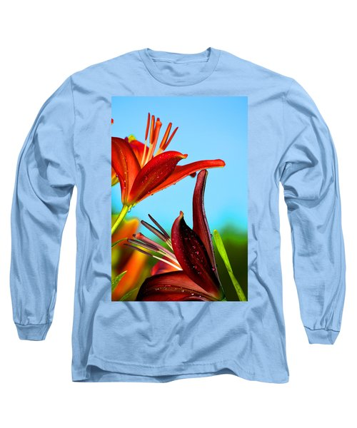 For The Love Of Lillies Long Sleeve T-Shirt