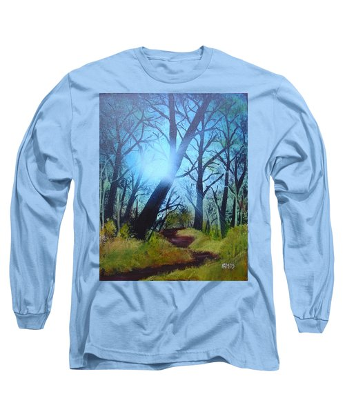 Forest Sunlight Long Sleeve T-Shirt