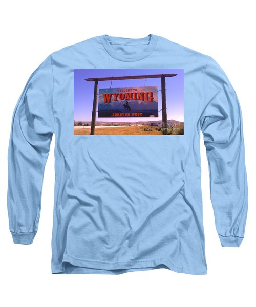 Forever West Long Sleeve T-Shirt by Chris Tarpening