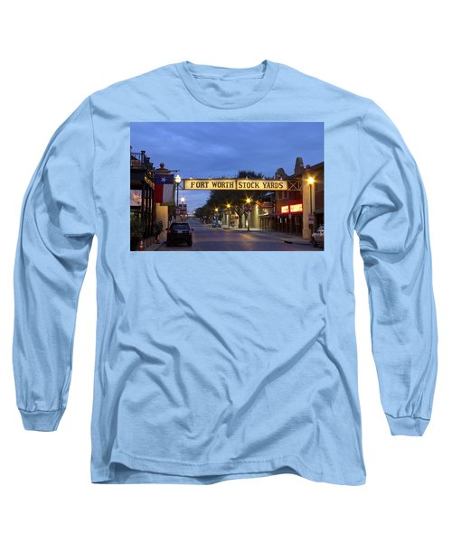 Fort Worth Stockyards Long Sleeve T-Shirt