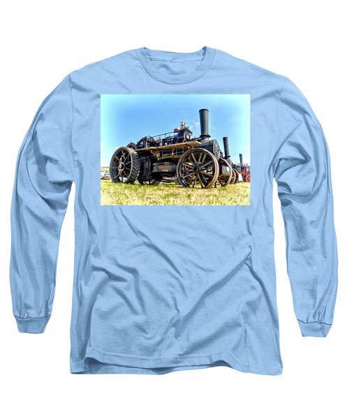 Fowler Ploughing Engine Long Sleeve T-Shirt