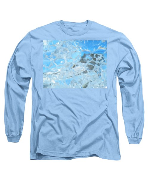 Long Sleeve T-Shirt featuring the photograph Fracked  by Brian Boyle