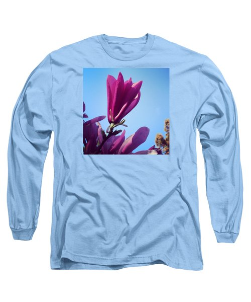 Fragrant Silence Long Sleeve T-Shirt by Kerri Farley