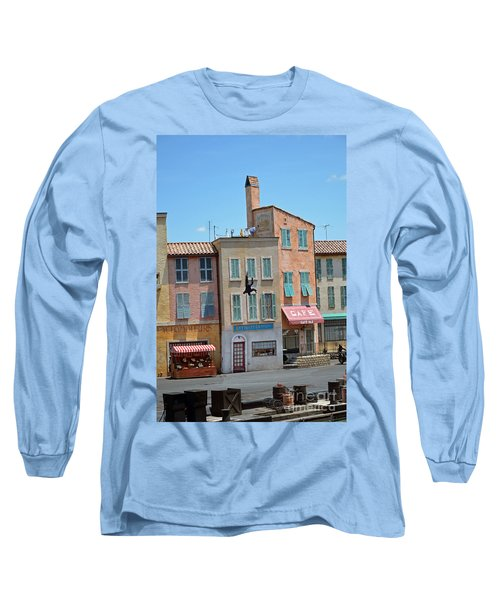 Long Sleeve T-Shirt featuring the photograph Freefall by Robert Meanor