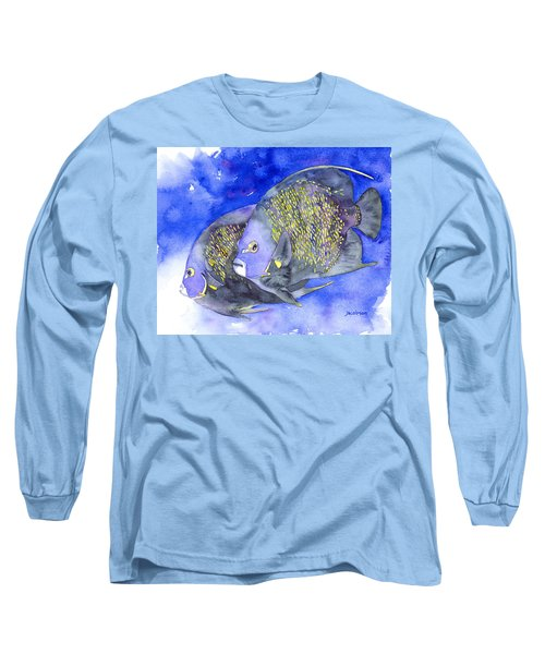 French Angelfish Long Sleeve T-Shirt
