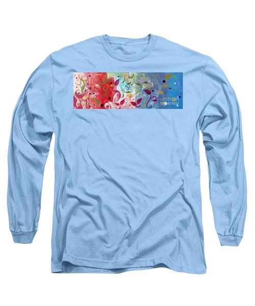 Frolic Long Sleeve T-Shirt by Robin Maria Pedrero