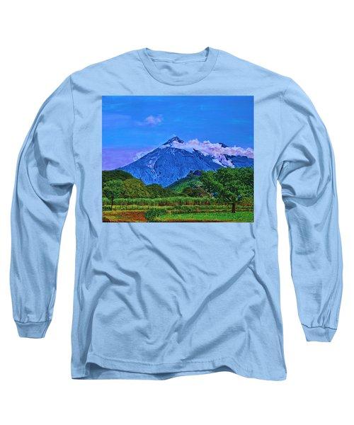 Fuego Volcano Guatamala Long Sleeve T-Shirt
