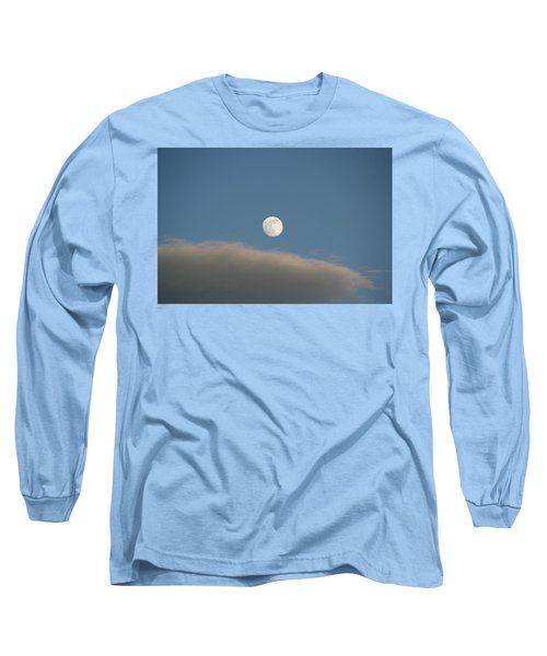 Long Sleeve T-Shirt featuring the photograph Full Moon by David S Reynolds