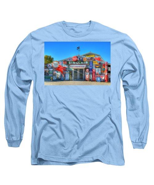 Gasoline Alley Long Sleeve T-Shirt by Steve Stuller