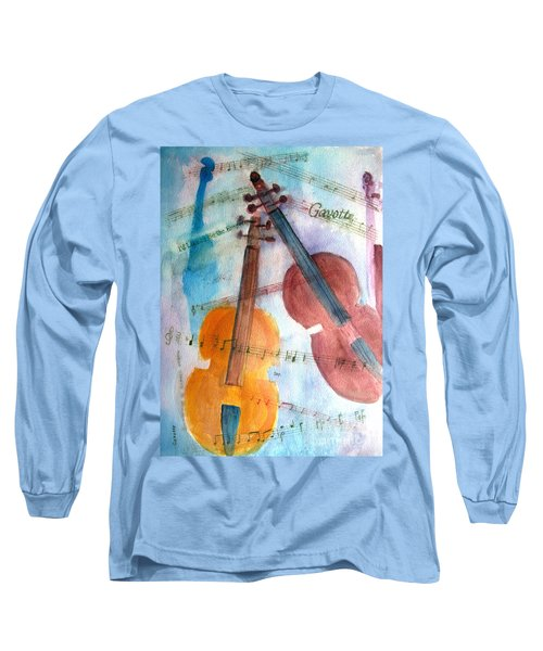 Gavotte Long Sleeve T-Shirt by Sandy McIntire