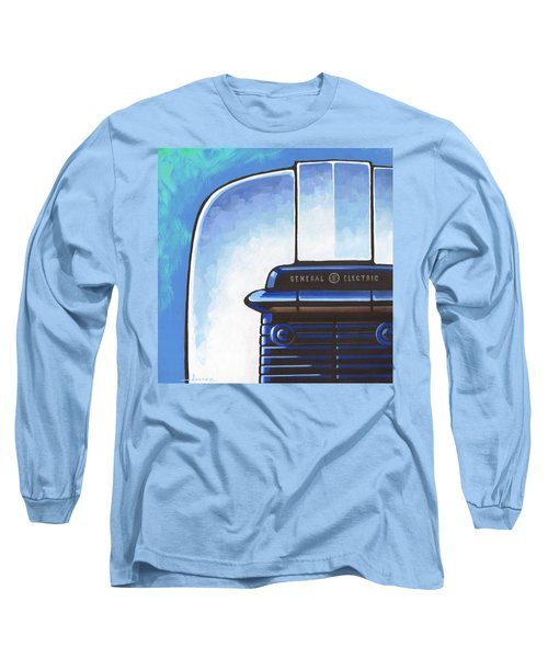 General Electric Toaster - Blue Long Sleeve T-Shirt