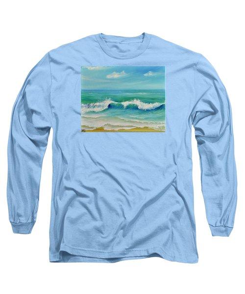 Gentle Breeze Long Sleeve T-Shirt by Teresa Wegrzyn