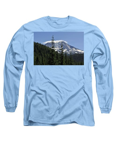 Gifford Pinchot National Forest And Mt. Adams Long Sleeve T-Shirt