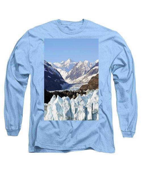 Long Sleeve T-Shirt featuring the photograph Glacier Bay Alaska by Sonya Lang