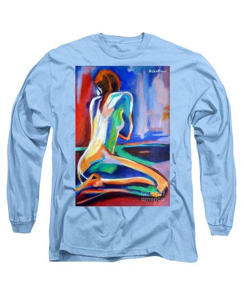 Gleam Long Sleeve T-Shirt by Helena Wierzbicki