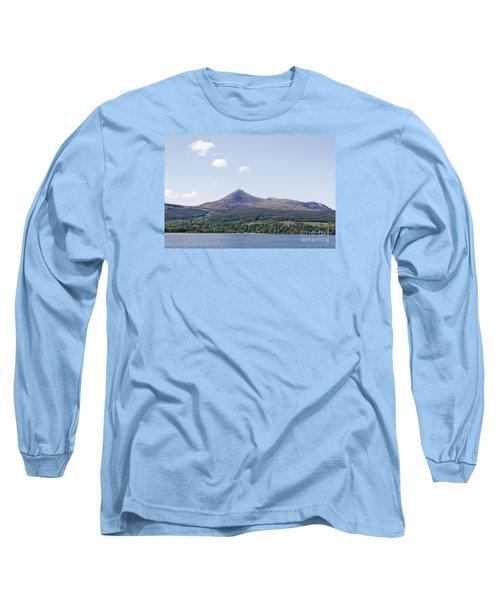 Goat Fell Isle Of Arran Scotland Long Sleeve T-Shirt
