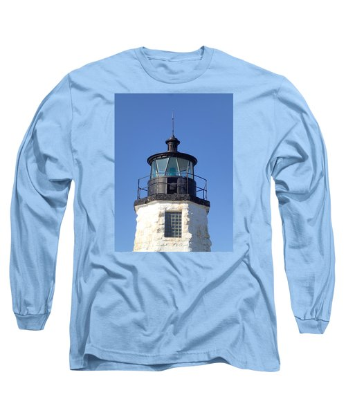 Goat Island Lighthouse Long Sleeve T-Shirt