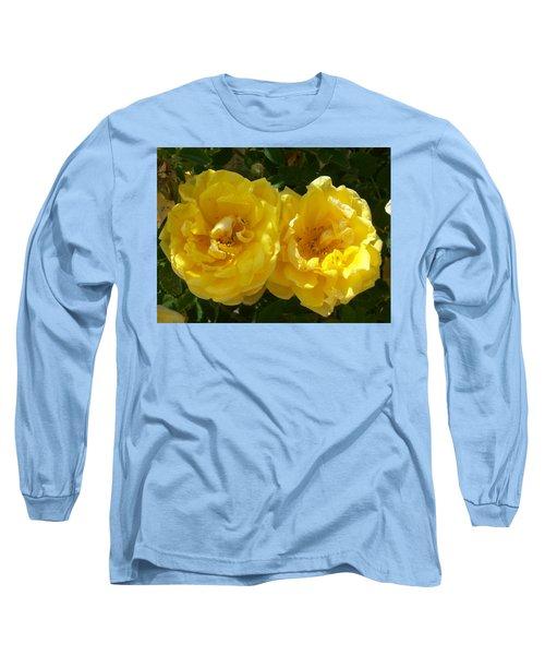 Golden Beauty Long Sleeve T-Shirt by Jewel Hengen
