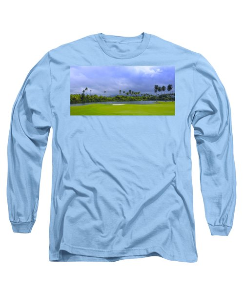 Golfer's Paradise Long Sleeve T-Shirt by Stephen Anderson