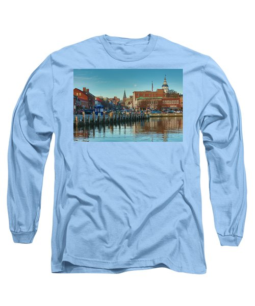 Long Sleeve T-Shirt featuring the photograph Good Morning Downtown by Jennifer Casey