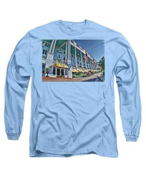 Grand Hotel - Image 001 Long Sleeve T-Shirt