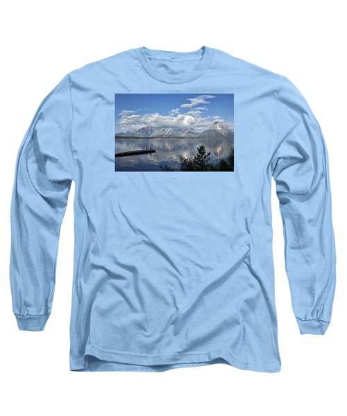 Grand Tetons In The Morning Light Long Sleeve T-Shirt