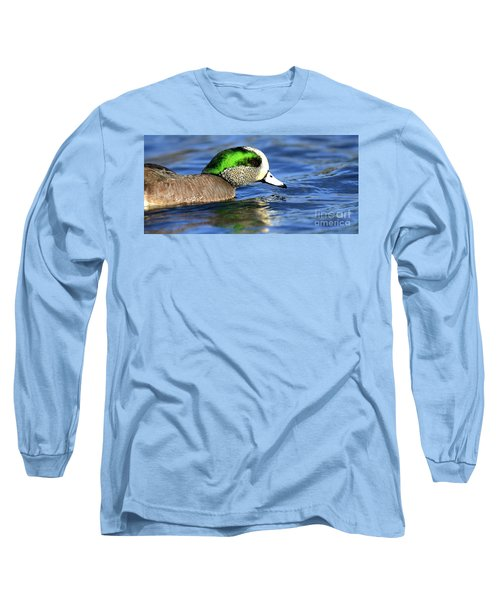 Green Illumination Long Sleeve T-Shirt