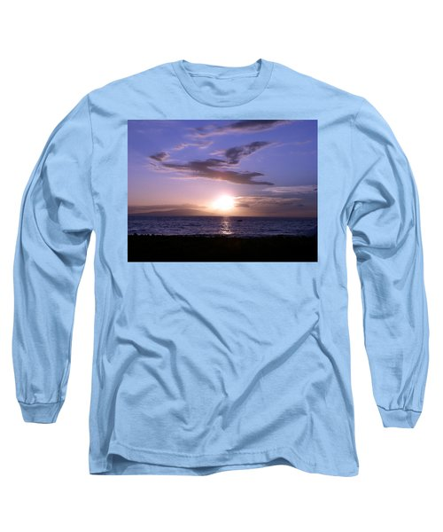 Greyhound In The Sky Long Sleeve T-Shirt