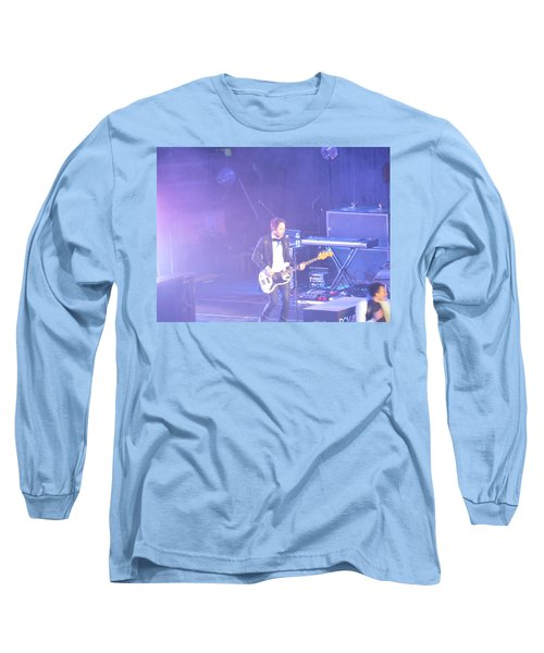 Long Sleeve T-Shirt featuring the photograph Gutair Player For Royal Taylor by Aaron Martens